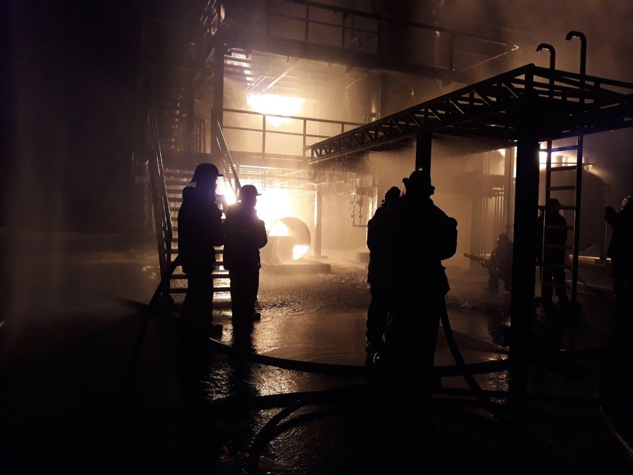 advanced industrial fire fighter training